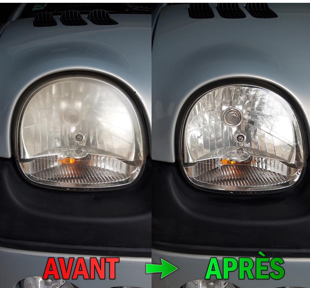 Un phare avant et après